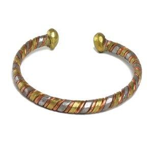 Jewelry - Woven Copper & Bronze Bracelet